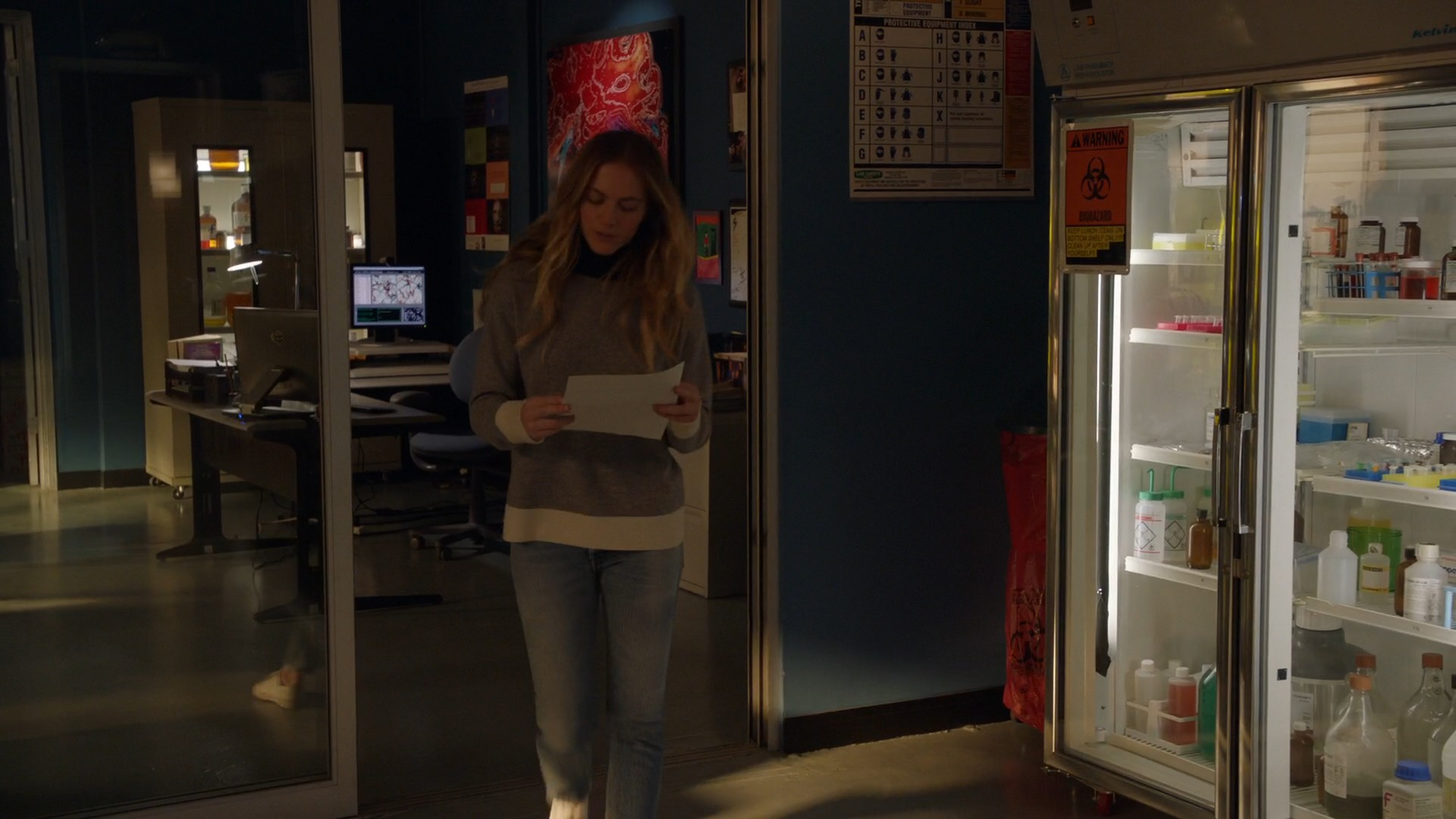 Emily Wickersham, Blue Jeans- NCIS S15E18