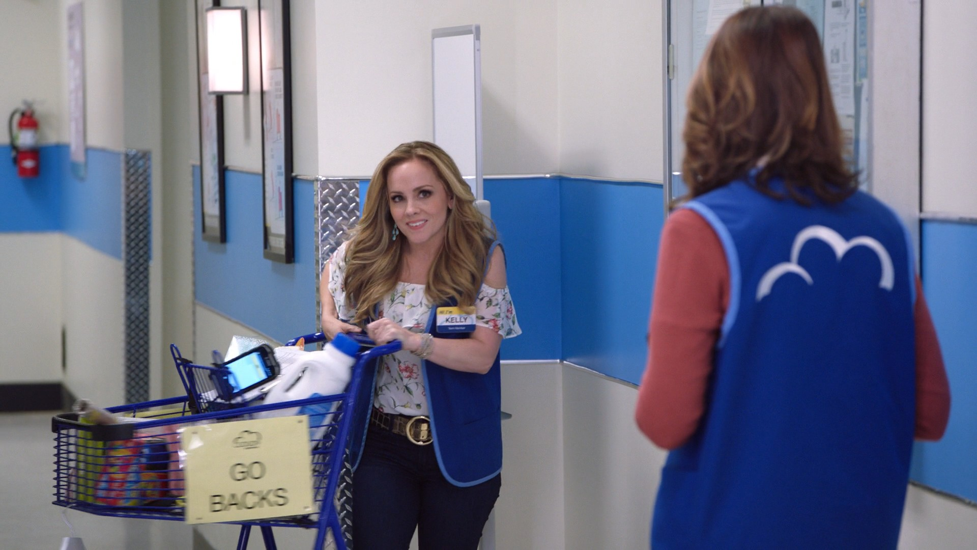 America Ferrera, Nichole Bloom, kelly Stables Superstore- S03E15