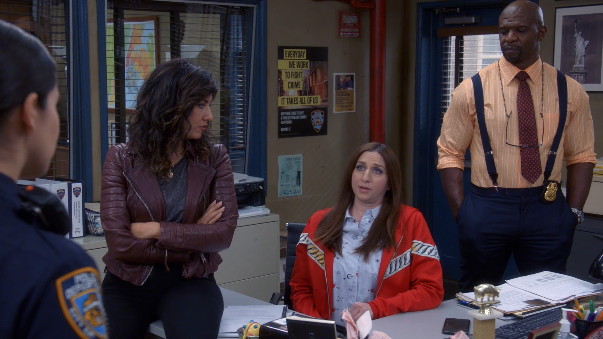 Stephanie Beatriz, Melissa Fumero- Brooklyn Nine Nine S05E16-E17