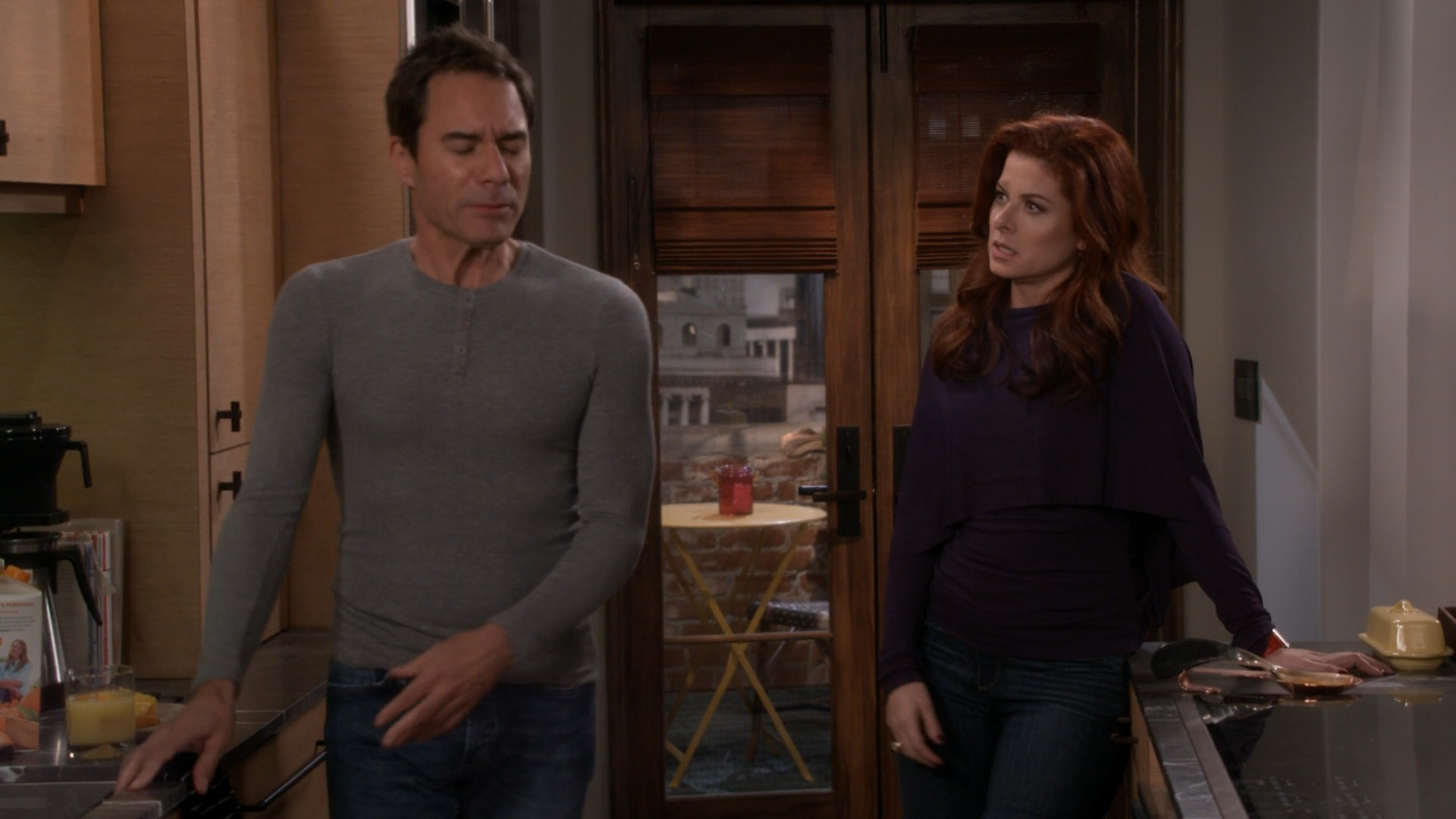 Debra Messing, Blue Jeans- Will And Grace S09E16