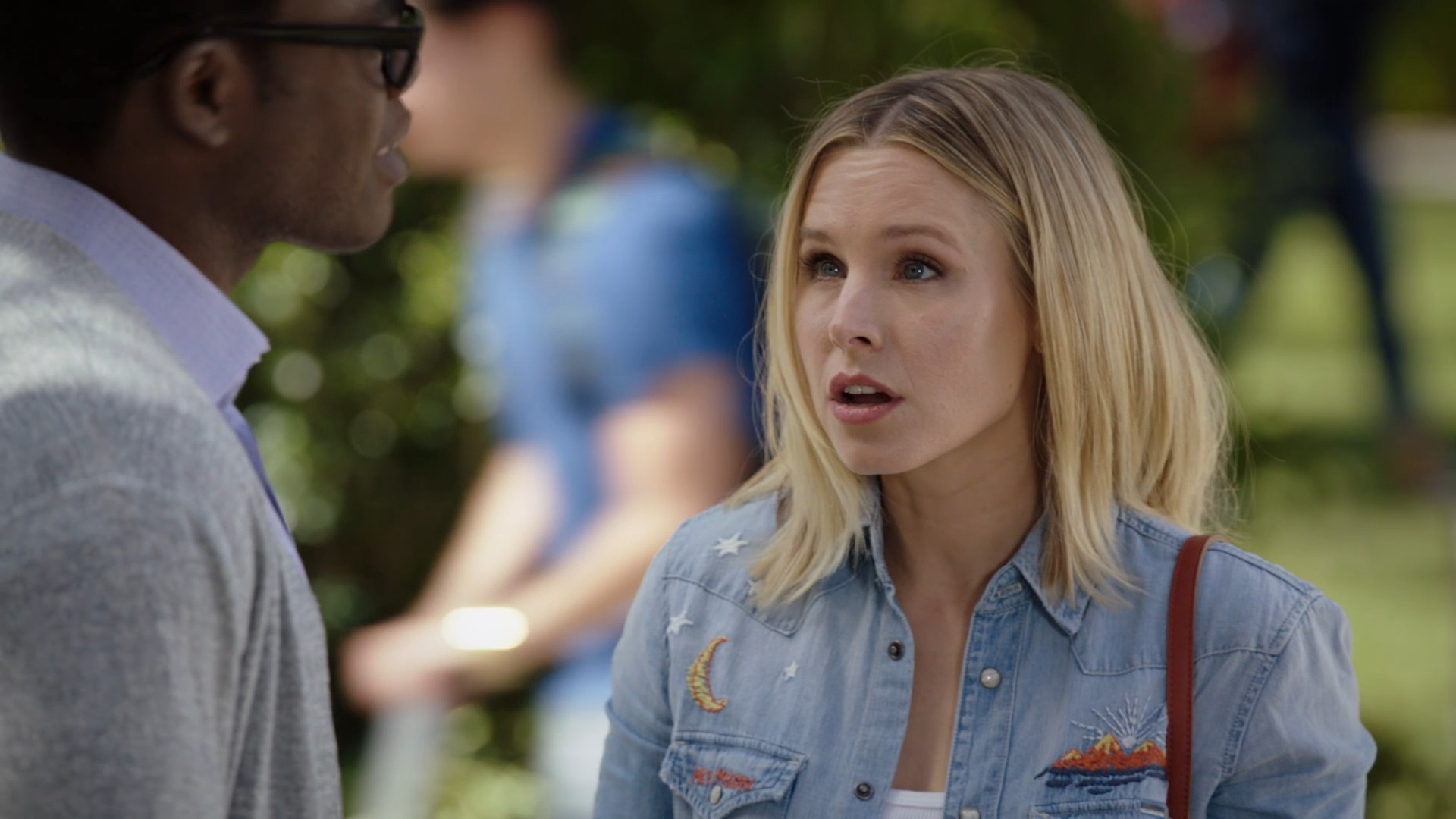 Kristen Bell The Good Place- S03E01-E02 (Everything Is Bonzer)